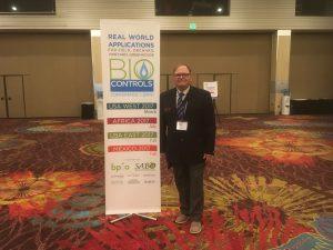 Bill at the 2017 BioControls Conference