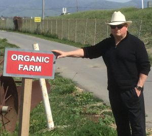 Bill Touring Organic Farms in California